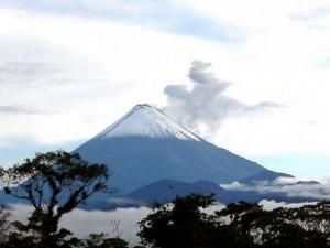 Alertan de ''alta probabilidad'' de caída de ceniza desde volcán Sangay
