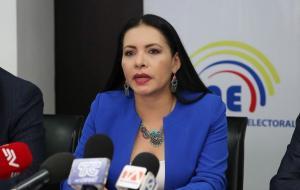 Aprueban un juicio político a la presidenta del CNE, Diana Atamaint
