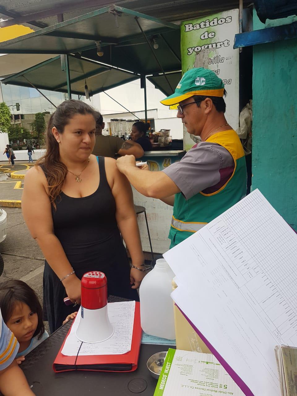 Avanza la vacunación
