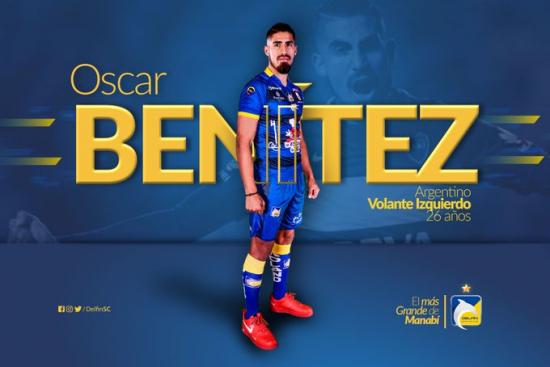 Oscar Benítez es el nuevo refuerzo de Delfín