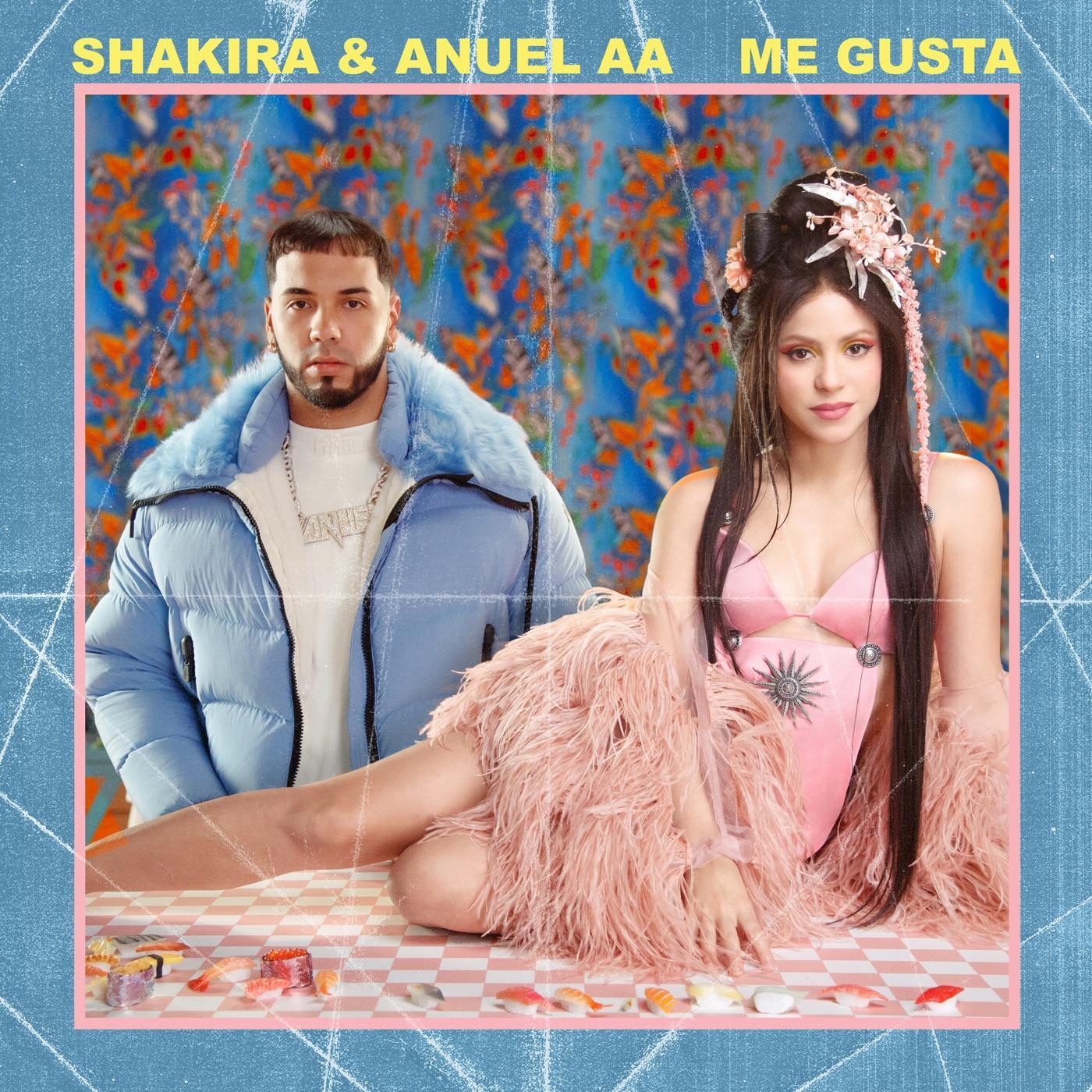 Shakira lanza ''Me gusta'' con Anuel AA a tres semanas del Super Bowl