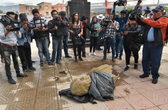 Retiran un busto y el nombre de Evo Morales de un coliseo en Bolivia