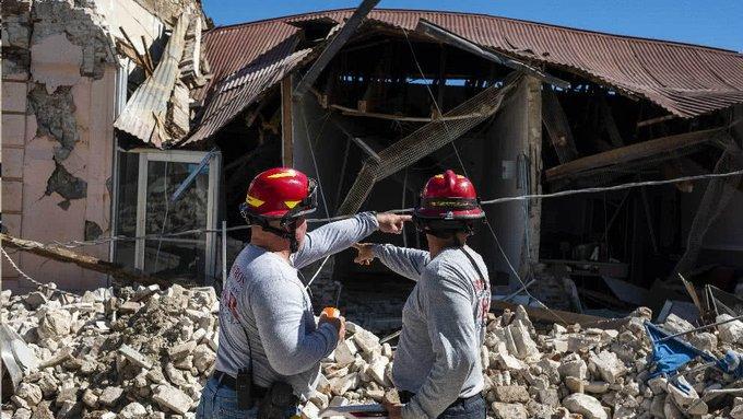Tareas de ayuda en Puerto Rico prosiguen una semana después de terremoto