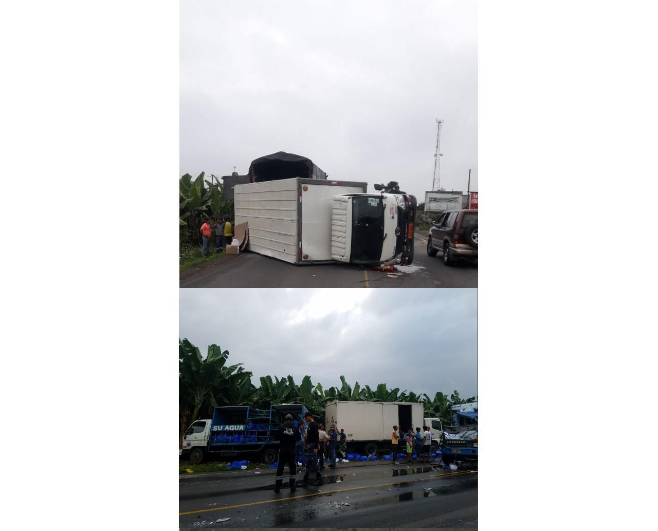 Más accidentes de tránsito en la vía E25