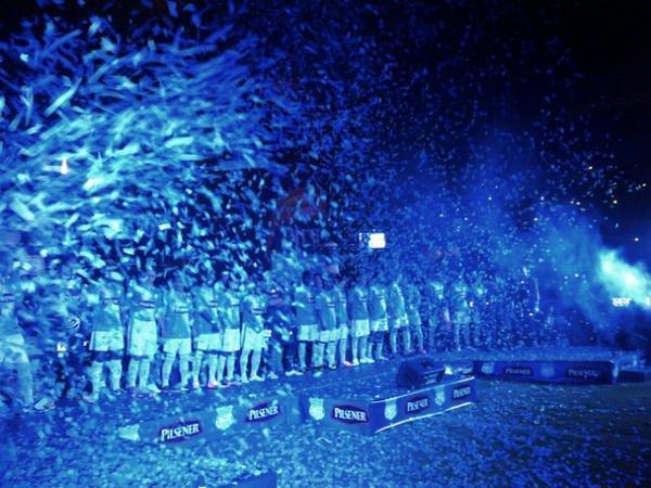 Emelec y Liga de Portoviejo se enfrentarán en la  'Explosión Azul'