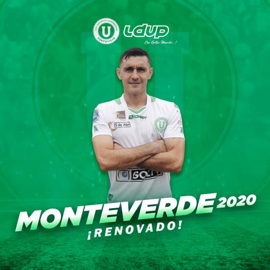 Armando Monteverde renueva su contrato con Liga de Portoviejo