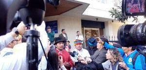 La Conaie prepara demanda contra Gobierno de Ecuador por disturbios