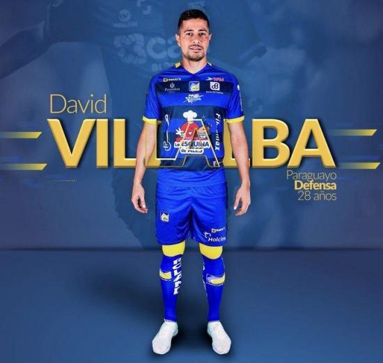 El paraguayo David Villalba solo estuvo once días en Delfín