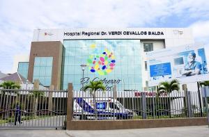Una mujer falleció de meningitis en el Hospital Verdi Cevallos Balda de Portoviejo