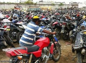 PORTOVIEJO: Falsifican documentos para retirar una moto