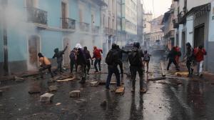 Calculan en 821 millones pérdidas por protesta social de octubre en Ecuador