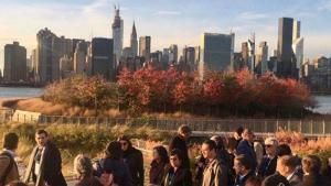 Nueva York estudia una gigantesca barrera marina para frenar las inundaciones
