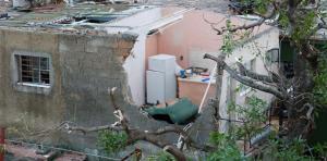 Fuertes vientos causan destrucción parcial en 72 casas en Nicaragua