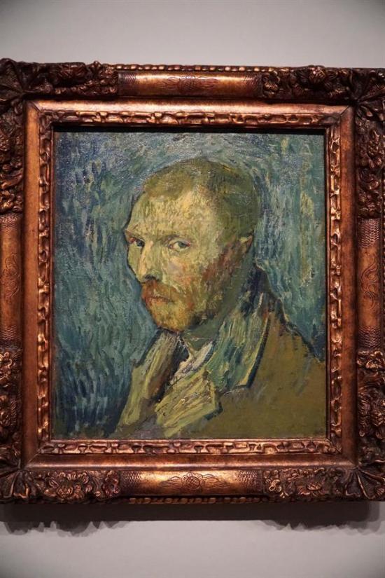 El ''selfie'' que se hizo Van Gogh en plena psicosis