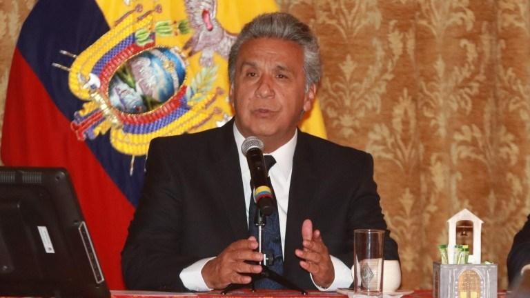 Lenín Moreno, molesto por denuncia de abusos en protesta de octubre