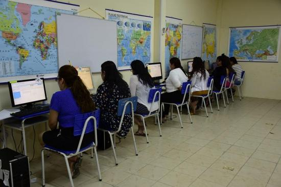 PORTOVIEJO: Reclusas de la cárcel de mujeres estudiarán online