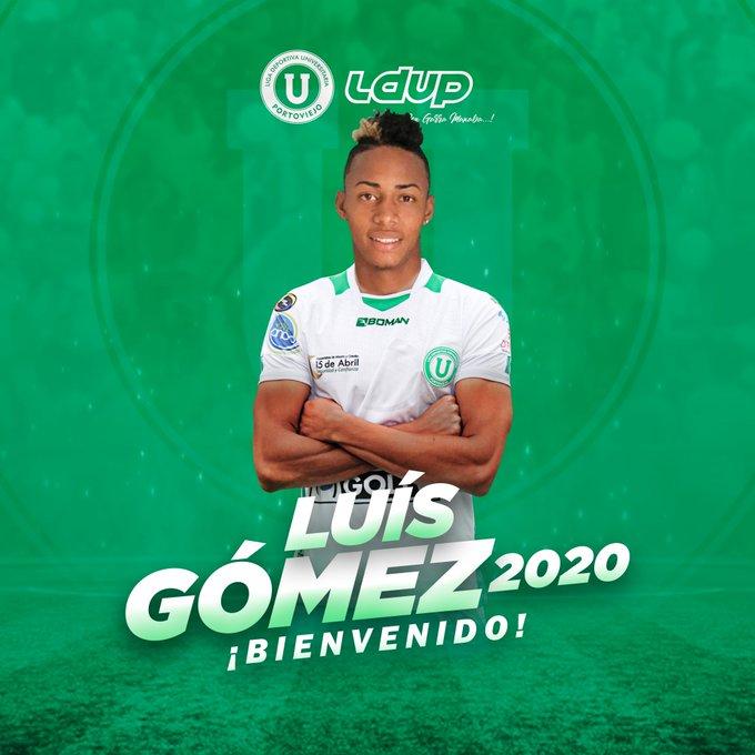 Luis Gómez es el nuevo refuerzo de Liga de Portoviejo