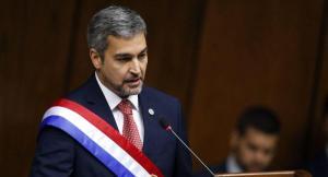 Presidente de Paraguay, Mario Abdo Benítez, se contagia de dengue