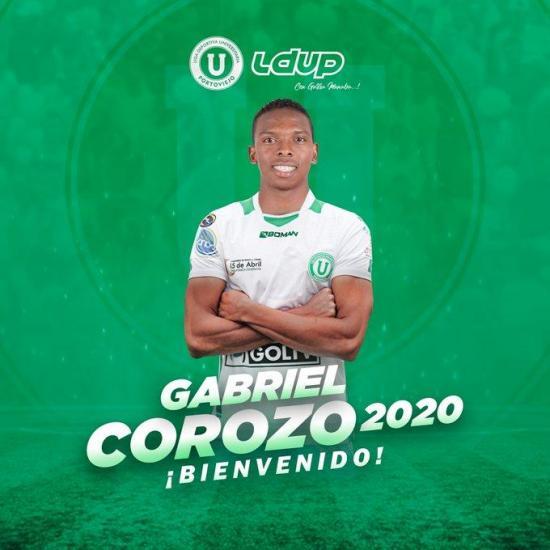 El ecuatoriano Gabriel Corozo se suma a Liga de Portoviejo