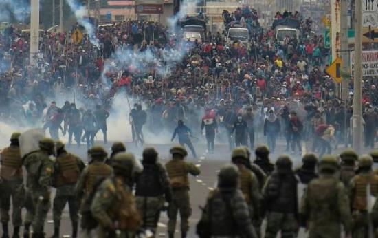 Ecuador considera ''parcial'' y ''poco objetivo'' informe de CIDH sobre protestas
