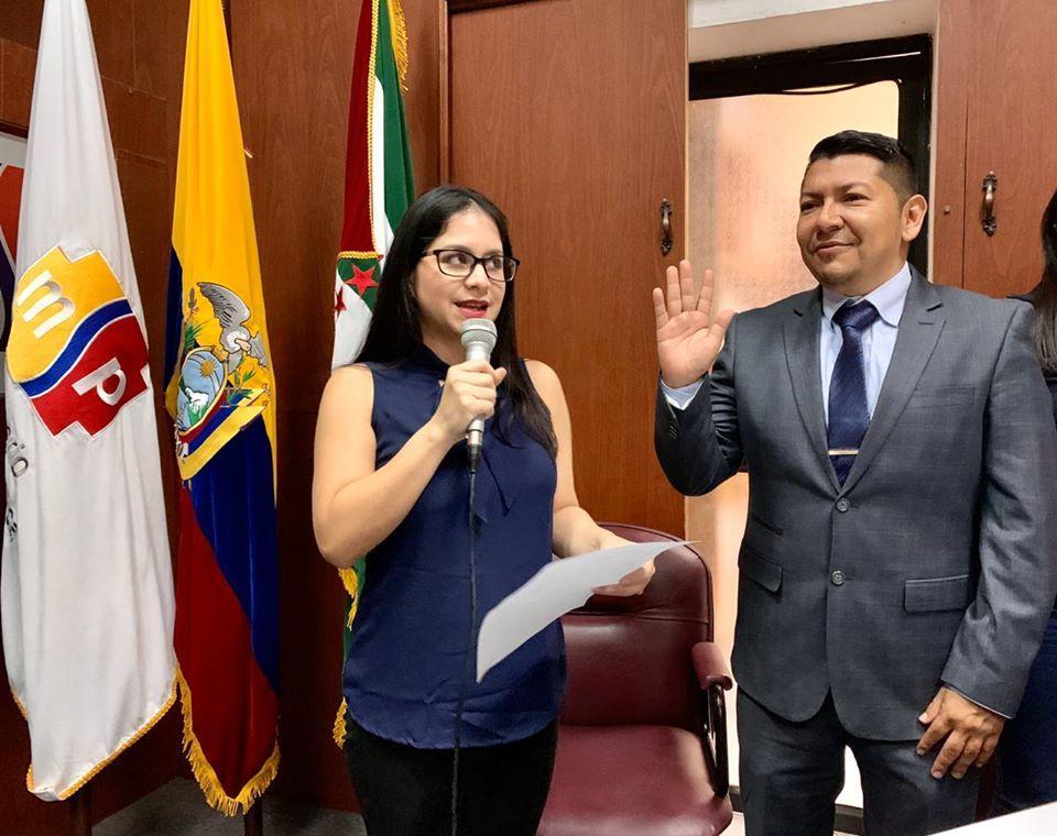 Nakin Alberto Véliz fue posesionado como Coordinador Zonal 4 - Salud