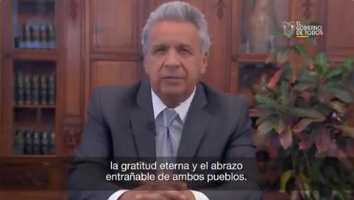 Presidente Moreno recuerda a 33 fallecidos en la guerra con Perú de 1995