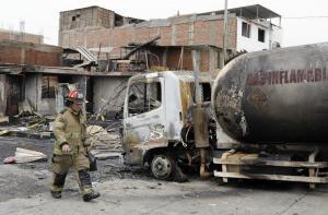 Brasil envía piel humana para víctimas de explosión de camión de gas en Perú