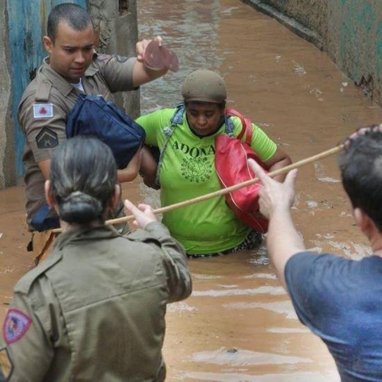 Ya son 37 los muertos por las lluvias torrenciales en Brasil