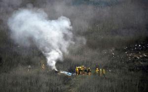 En el helicóptero de Kobe Bryant viajaban nueve personas, dice la Policía
