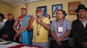 Indígenas  analizan el extractivismo en Parlamento de los Pueblos