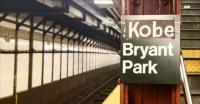 Rinden homenaje espontáneo a Kobe Bryant en parada de metro de Nueva York