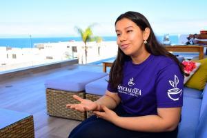 La mantense Alina Cedeño, cuenta su experiencia en China; Ella viajó hace tres años para estudiar en Shanghai
