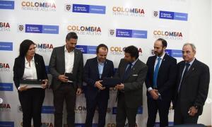 Conmebol inició visita en Colombia para evaluar aspectos de la Copa América