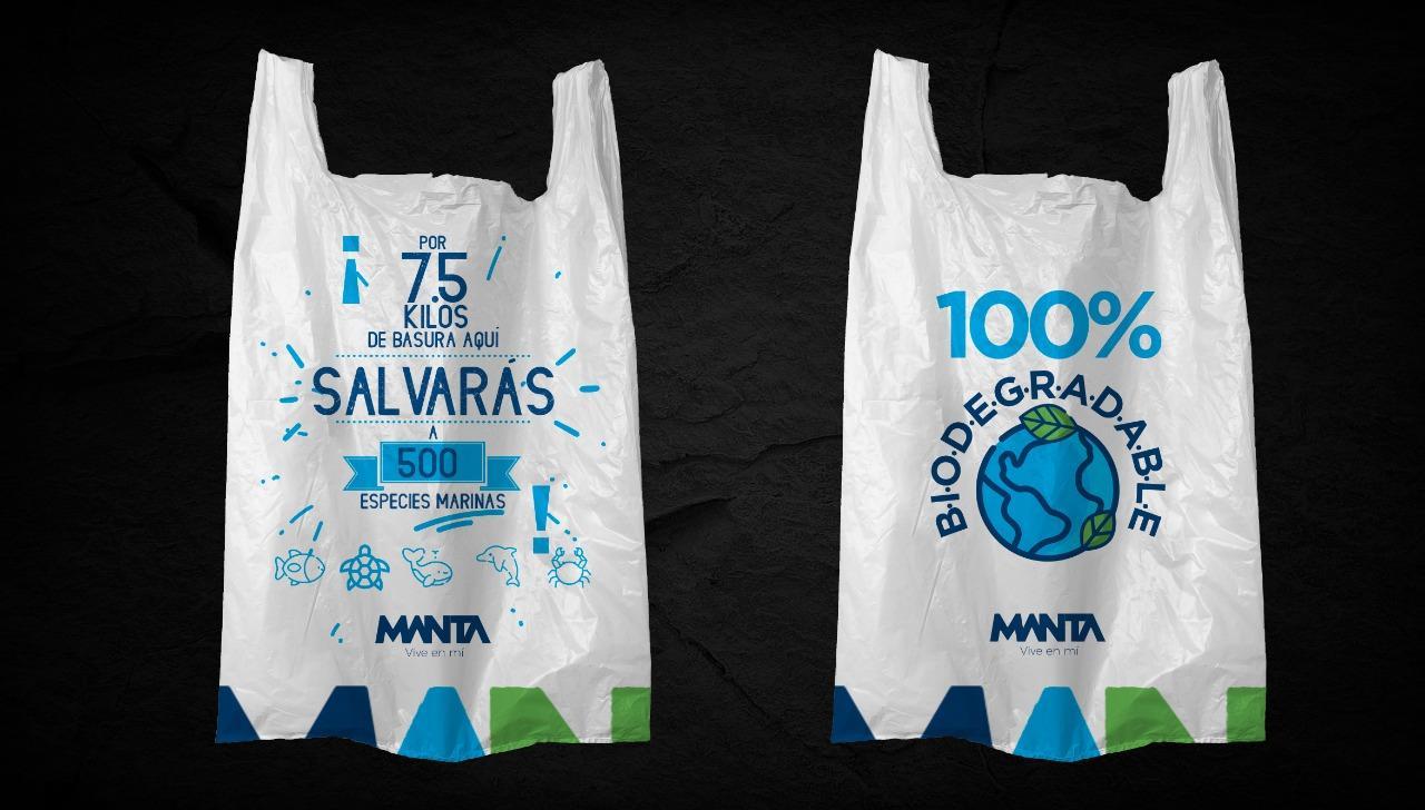 MANTA: En el feriado de Carnaval se entregarán 100.000 fundas ecológicas para recoger la basura