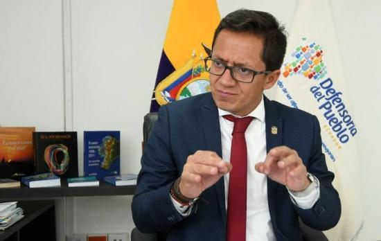 El Defensor del Pueblo de Ecuador denuncia amenazas de muerte en su contra