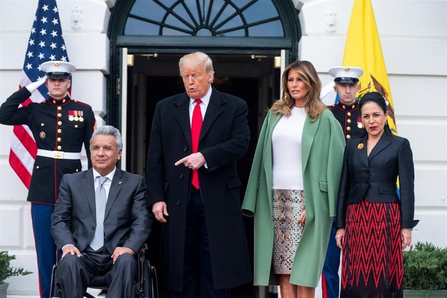 Ecuador considera un éxito reunión con Trump y ratifica interés en relación