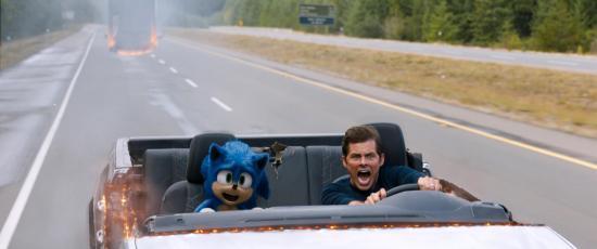 Sonic pasa del videojuego al cine en un San Valentín de comedias románticas