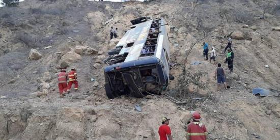 Barcelona SC emite comunicado oficial sobre accidente de bus con sus hinchas en Perú