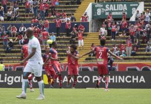 Liga de Portoviejo cae 2-1 ante El Nacional en su regreso a la Serie A