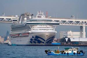 Cuarenta estadounidenses dieron positivo por coronavirus en crucero en Japón