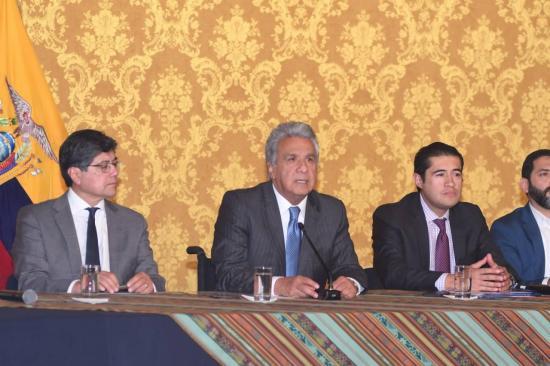 CORONAVIRUS: Cinco ecuatorianos aislados en China serán evacuados, confirma Lenín Moreno