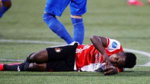 El colombiano Luis Sinisterra se lesiona y estará más de seis meses de baja