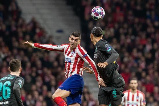El Atlético de Madrid se adelanta en la eliminatoria al Liverpool