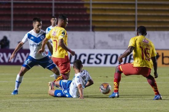 Aucas deja escapar el pase a la segunda fase de Copa Sudamericana