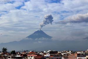 El Instituto Geofísico de Ecuador descarta colapso del volcán Tungurahua