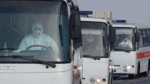 Ucrania refuerza seguridad de evacuados de Wuhan tras violentos incidentes