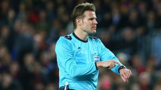El alemán Felix Brych, el árbitro que más partidos ha pitado en la Champions League