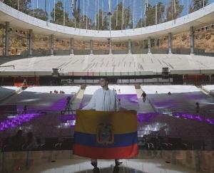 Johan Vera se alista para representar a Ecuador en Viña del Mar