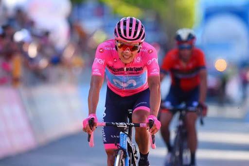 Carapaz, entre los ciclistas que representarán a Ecuador en los Juegos Olímpicos de Tokio 2020