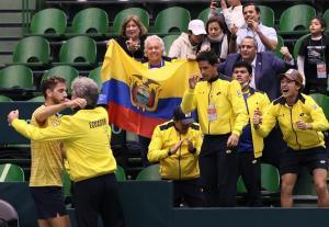 Ecuador-Japón: Ecuador vence y clasifica a la fase final de la Copa Davis